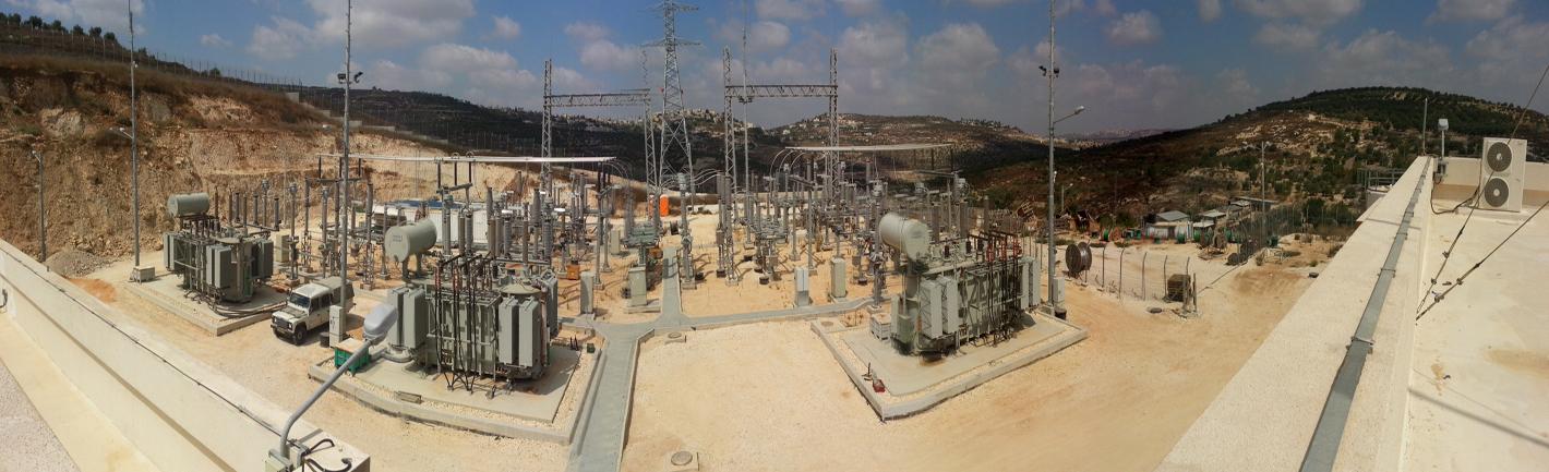 محطة تحويل كهرباء صرا (نابلس)